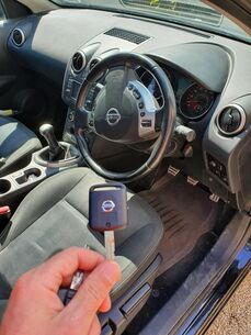 Nissan Car Key Replacement Reading